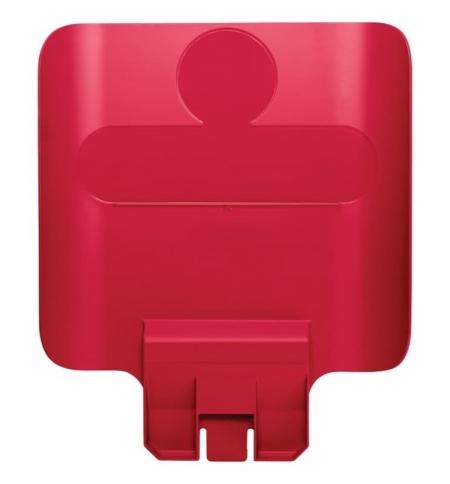 фото: Информационная табличка для контейнера Rubbermaid Slim Jim красная, 2007905