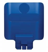 Информационная табличка для контейнера Rubbermaid Slim Jim синяя, 2007909